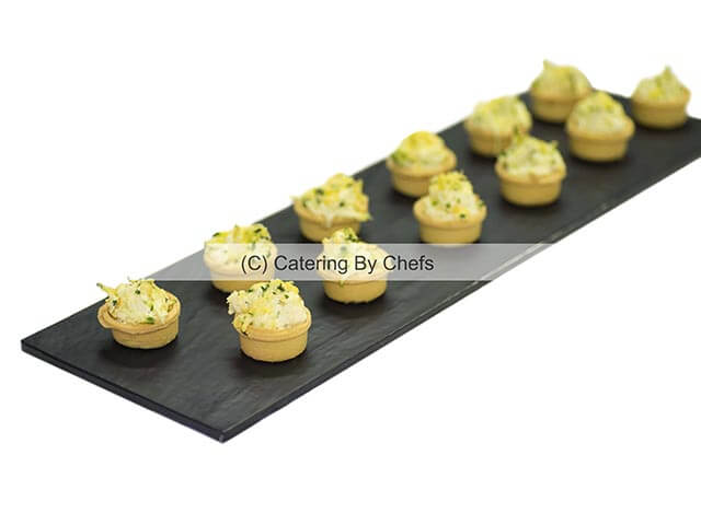 Ricotta and Zuchini Tartlett