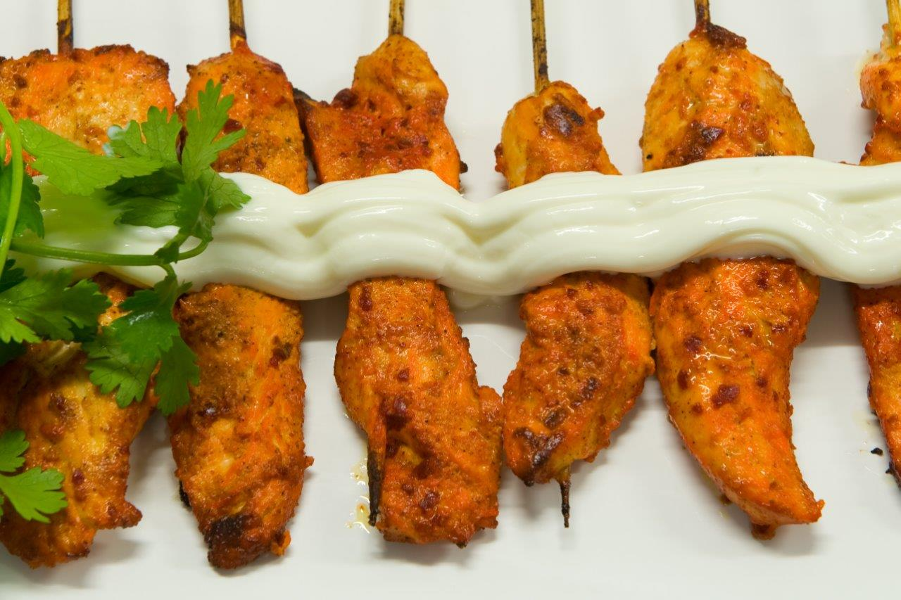 Tandoori Chicken Skewers