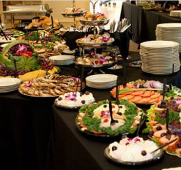 corporate buffet catering